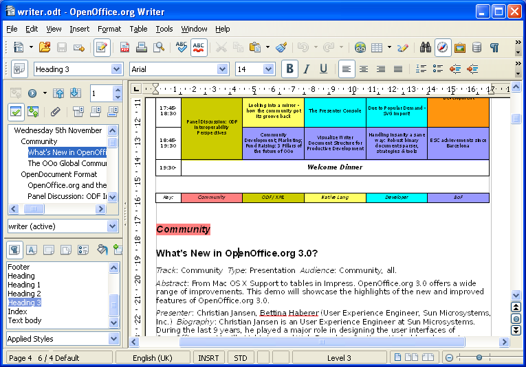 Openoffice 3 4 - Traitement de texte open office gratuit ...