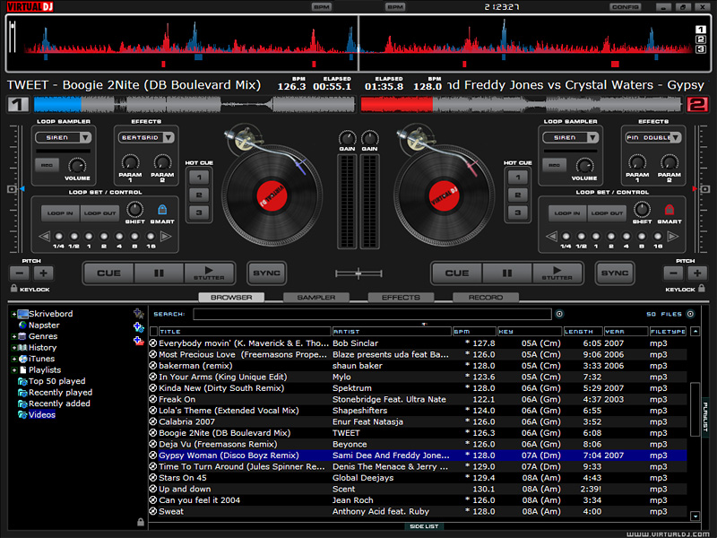 Virtual DJ 6.0 |Downloadvinden.nl